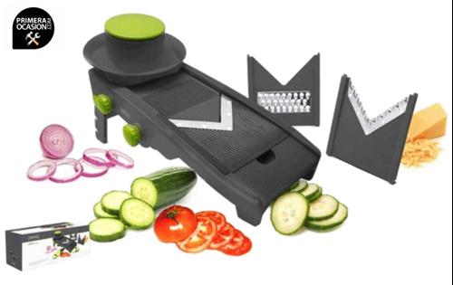 Imagen de Mandolina de cocina corte en V VIN BOUQUET (NERTHUS) FIH 321