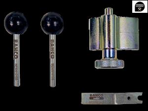 Imagen de Juego calado grupo VAG diesel 1.6, 1.9, 2.0 (util cigüeñal redondo) BAHCO BE509205