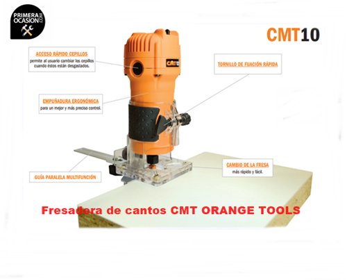 Imagen de Fresadora de cantos CMT10
