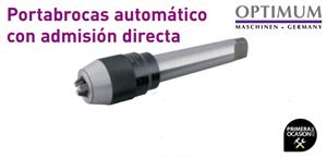 Imagen de Portabrocas automatico OPTIMUM MT 4 0-13 mm