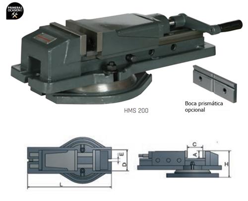 Imagen de Mordaza hidraulica OPTIMUM HMS 125