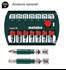 "Imagen de Atornillador impacto bateria METABO SSD 18 LTX 200 BL 1/4"""