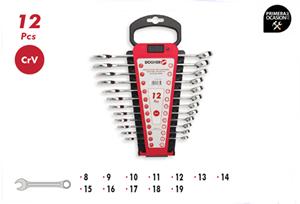 Imagen de Juego 12 llaves combinadas DOGHER TOOLS 451-022