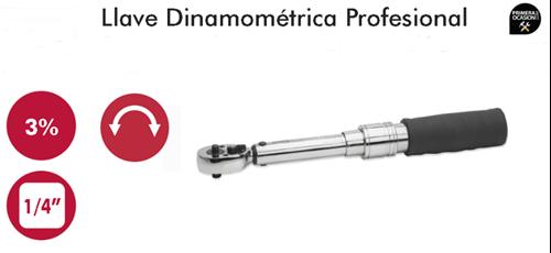 "Imagen de Llave dinamometrica profesional 1/4"" 10-50 Nm DOGHER TOOLS 625-10-50"