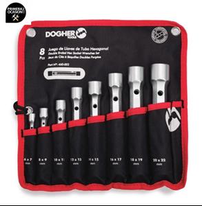 Imagen de Juego 8 llaves de tubo DOGHER TOOLS 460-002