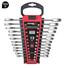 Imagen de Juego 12 llaves combinadas carraca plana sin reversor DOGHER TOOLS 4557-022