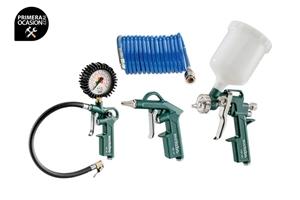 Imagen de Set accesorios aire comprimido METABO LPZ 4