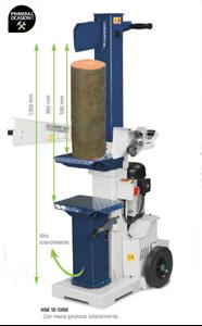 Imagen de Astilladora troncos HOLZKRAFT HSE 10-1350