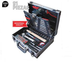 Imagen de Maleta 91 herramientas mantenimiento METALWORKS  BTK91A