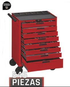 Imagen de Carro 546 herramientas TENGTOOLS TCMM546N