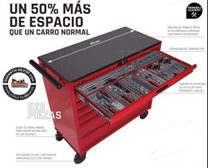 Imagen de Carro 622 herramientas TENGTOOLS TCMM622N