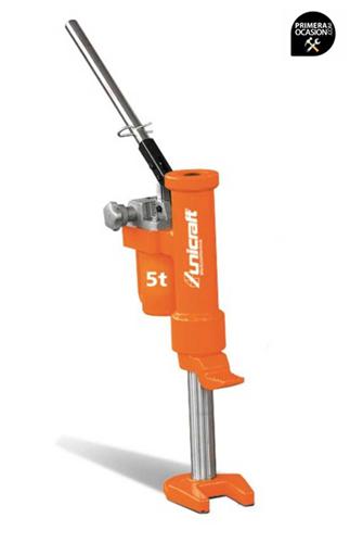 Imagen de Gato elevador de maquinas hidraulico UNICRAFT HMH 5