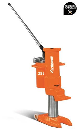 Imagen de Gato elevador de maquinas hidraulico UNICRAFT HMH 25