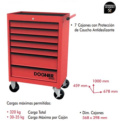 Imagen de Carro herramientas 7 cajones DOGHER TOOLS 025-005