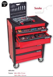 Imagen de Carro herramientas+150 herramientas DOGHER TOOLS 025-551