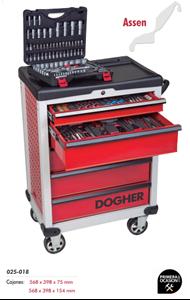 Imagen de Carro herramientas+150 herramientas DOGHER TOOLS 025-550