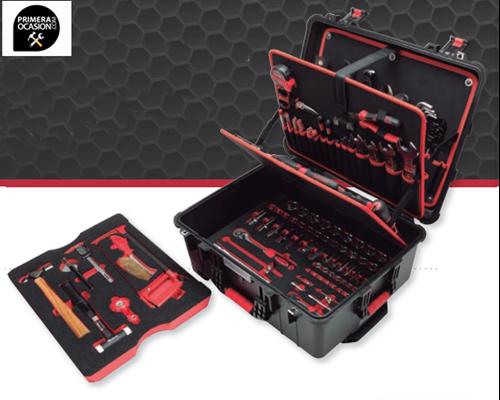 Imagen de Maletin 139 herramientas profesional WATERPROOF TROLLEY GOBOX 051-510