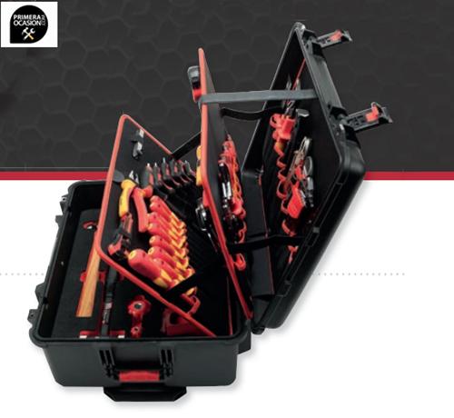 Imagen de Maletin 139 herramientas electricista WATERPROOF TROLLEY GOBOX 051-511