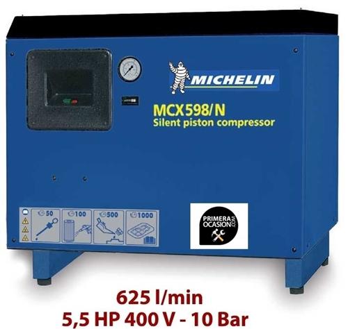 Imagen de Compresor aire silencioso de piston MICHELIN MCX598N