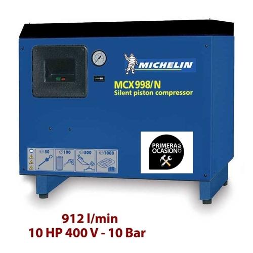 Imagen de Compresor aire silencioso de piston MICHELIN MCX998N
