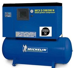Imagen de Compresor aire silencioso de piston MICHELIN MCXD598/300N