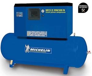 Imagen de Compresor aire silencioso de piston MICHELIN MCXD998/500N