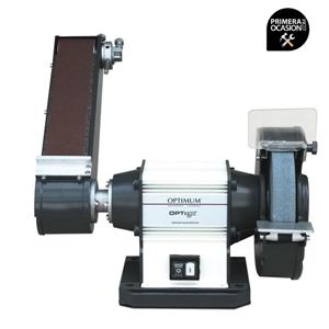 Imagen de Esmeriladora con brazo de lijado OPTIMUM GU 20S