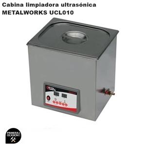 Imagen de Cabina limpiadora ultrasonica METALWORKS UCL010