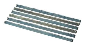 Imagen de 6 Hojas sierra marqueteria HOLZSTAR 5911661 metal