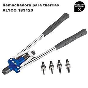 Imagen de Remachadora para tuercas de 2 manos ALYCO 183120