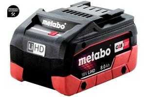 Imagen de Bateria Metabo 18 V / LiHD 8.0 Ah