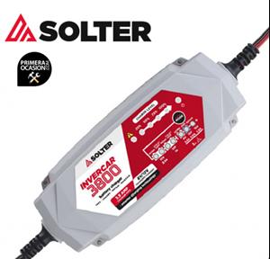 Imagen de Cargador bateria inteligente Solter Invercar 3800