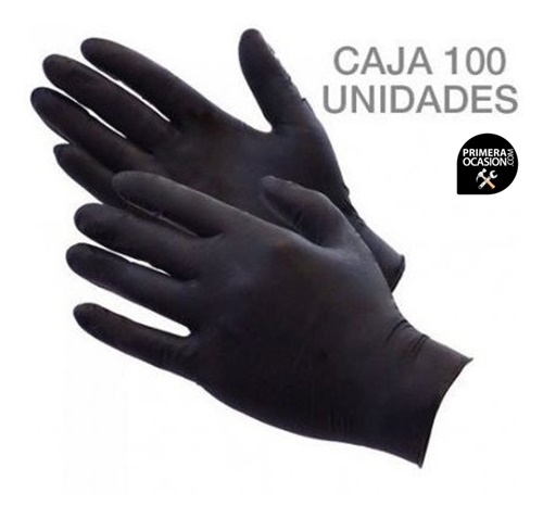 Imagen de Guantes nitrilo (100 unidades.) Talla M/8