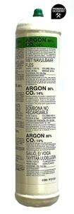 Imagen de Bombona gas Argon/CO2 1 litro