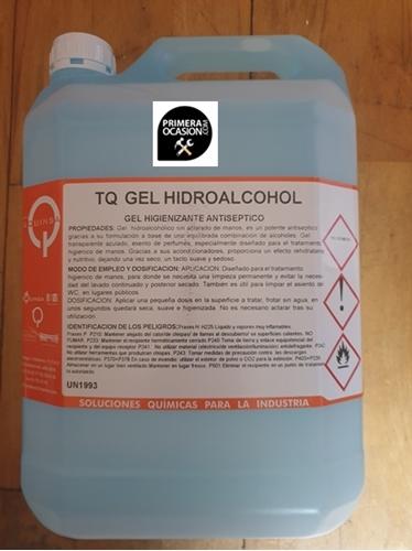 Imagen de Gel Hidroalcohol higienizante - 5 litros