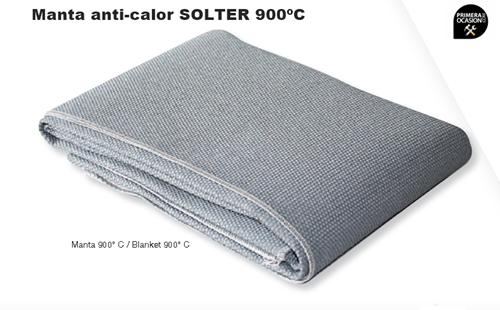 Imagen de Manta anti-calor SOLTER 950ºC 2000x900 mm