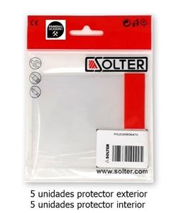 Imagen de Protectores pantalla soldar SOLTER HELLMET R-10XL