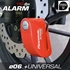 Imagen de Antirrobo de disco moto con alarma RADIKAL RK66R