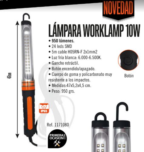 Imagen de Lampara portatil taller LED WORKLAMP 950 Lumen