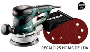 Imagen de Lijadora excentrica METABO SXE 450 TURBO TEC