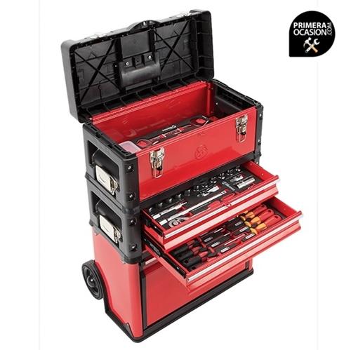Imagen de Trolley de 3 modulos + 47 herramientas DOGHER TOOLS 051-500
