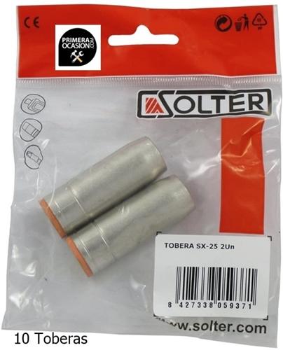 Imagen de 10 Toberas antorcha mig SX-25 SOLTER