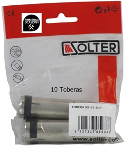 Imagen de 10 Toberas antorcha mig SX-36 SOLTER