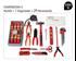 Imagen de Mochila electricista 29 herramientas DOGHER TOOLS 076-521