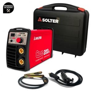 Imagen de Soldador inverter SOLTER CORE 200DI+Maletin