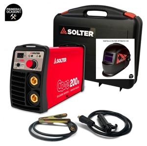 Imagen de Soldador Inverter SOLTER CORE 200 DI+Maletin+Pantalla