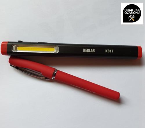 Imagen de Lampara LED recargable KEBLAR KB17 Dual